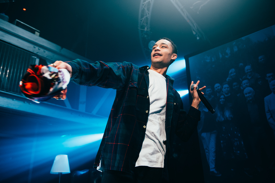 Loyle Carner live at The Garage, Glasgow