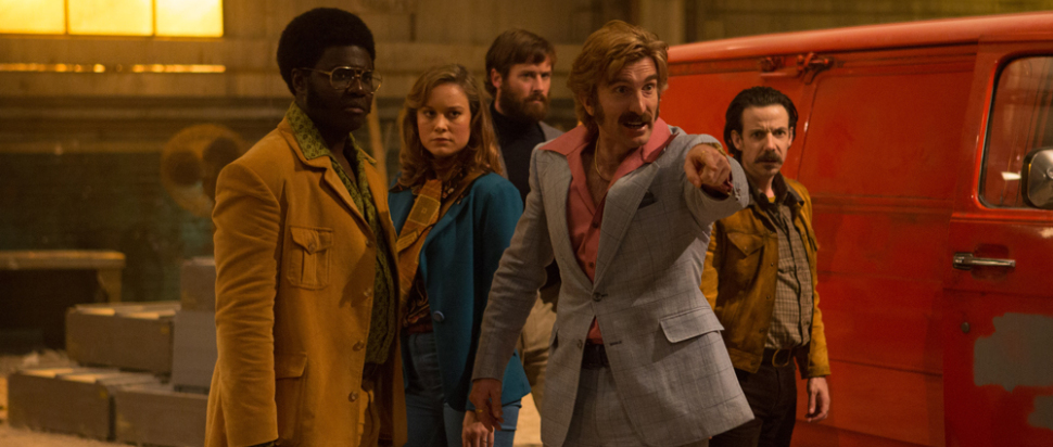Sharlto Copley as Vernon in 'Free Fire'