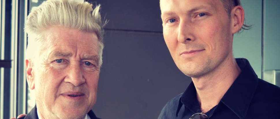 David Lynch and Lawrence English of HEXA