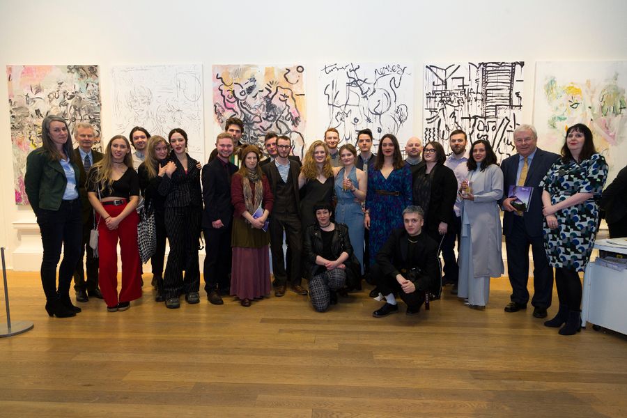 Group Photo – RSA New Contemporaries Winners