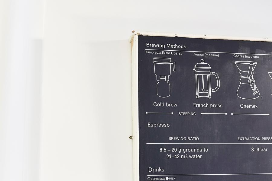 Saul studio: Marmadukes Coffee infographic