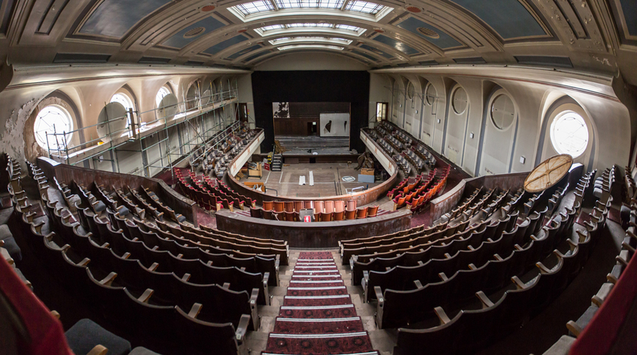 Leith Theatre auditorium