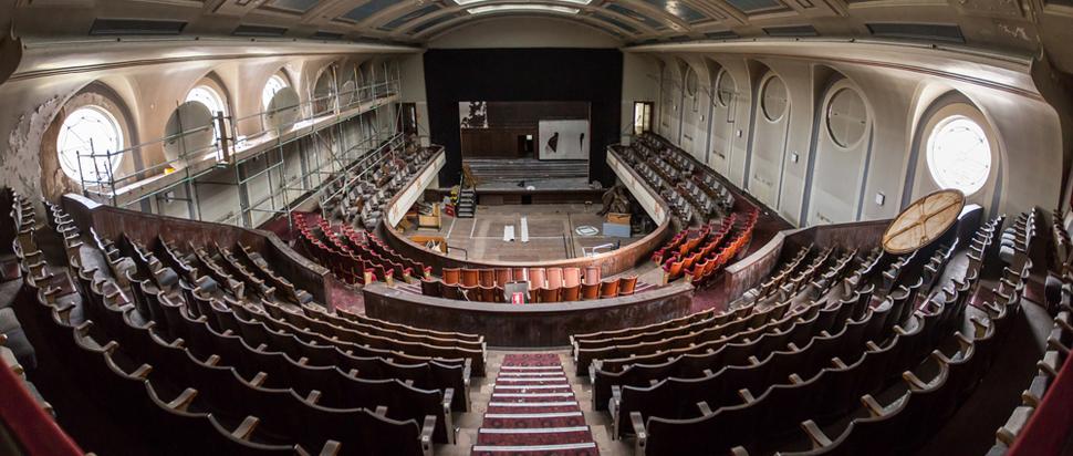 Leith Theatre auditorium
