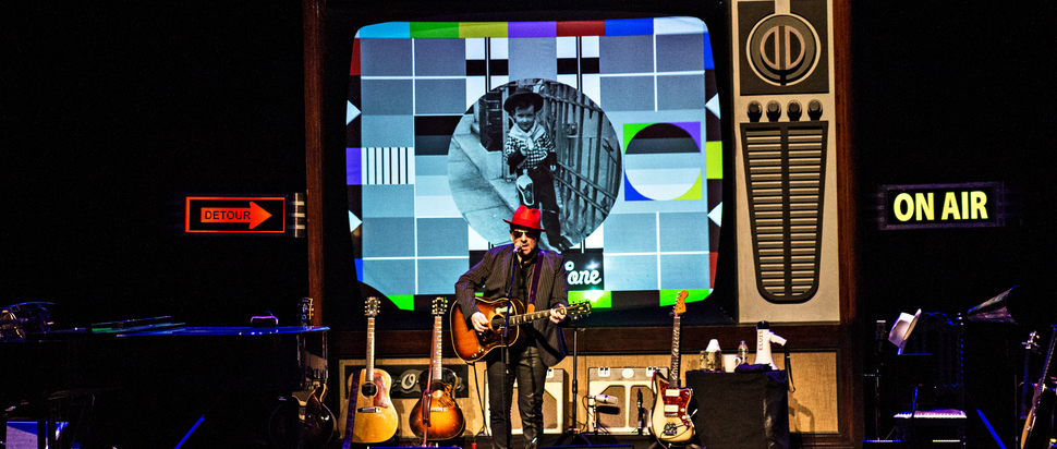Elvis Costello live at The Festival Theatre, Edinburgh