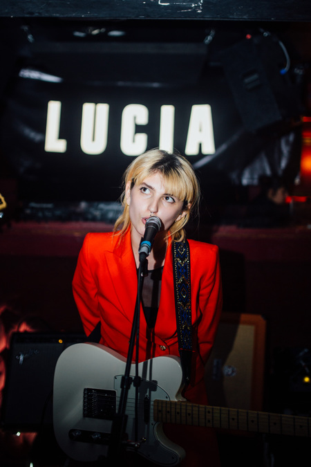 LUCIA live at The Berkeley Suite, Glasgow