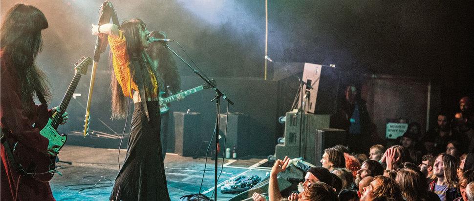 Bo Ningen live at Wrong Festival 2017