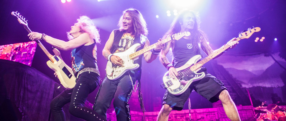 Iron Maiden live at The Manchester Arena