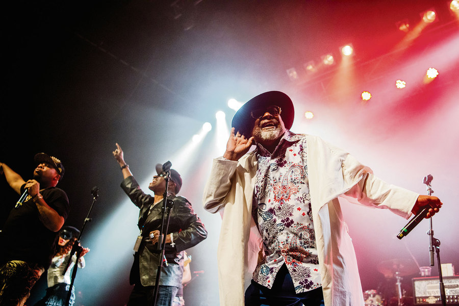 George Clinton live at The O2 ABC, Glasgow