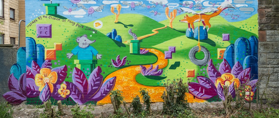 LeithLate mural