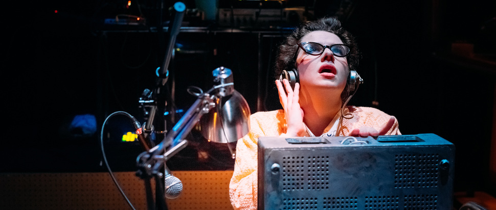 Daphne Oram's Wonderful World of Sound live at the Tron Theatre