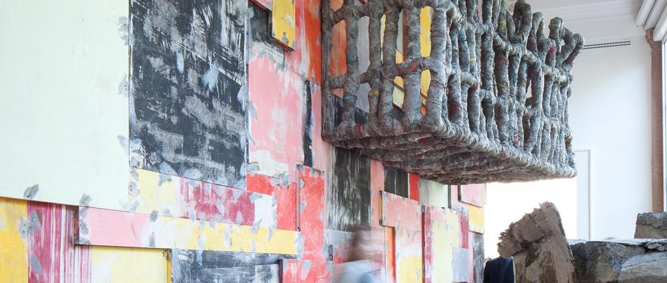 57th International Art Exhibition - La Biennale di Venezia, Viva Arte Viva. Great Britain Pavilion, Phyllida Barlow, Folly