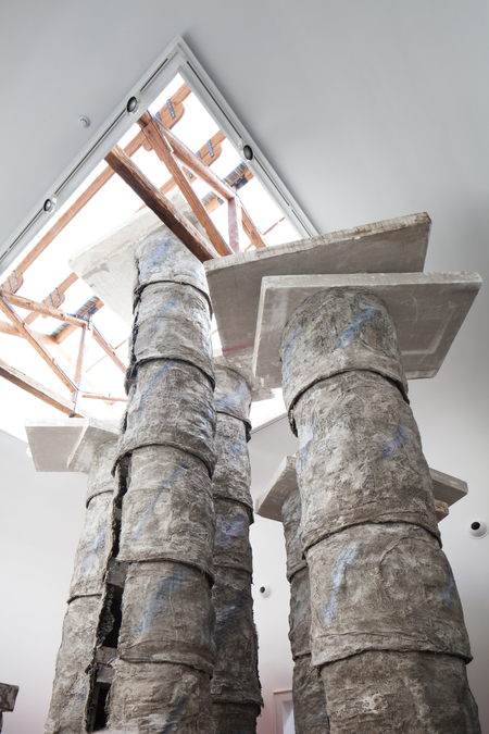 57th International Art Exhibition - La Biennale di Venezia, Viva Arte Viva. Great Britain Pavilion, Phyllida Barlow, Folly