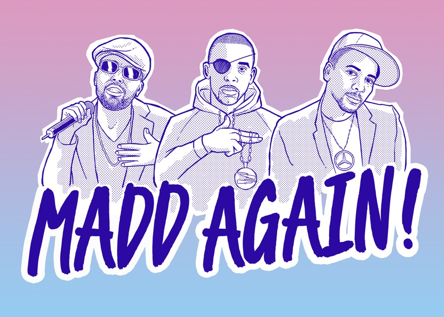 Madd Again! are back with their second EP MaddTing Vol. 2.1 -