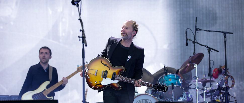 Radiohead live at TRNSMT 2017