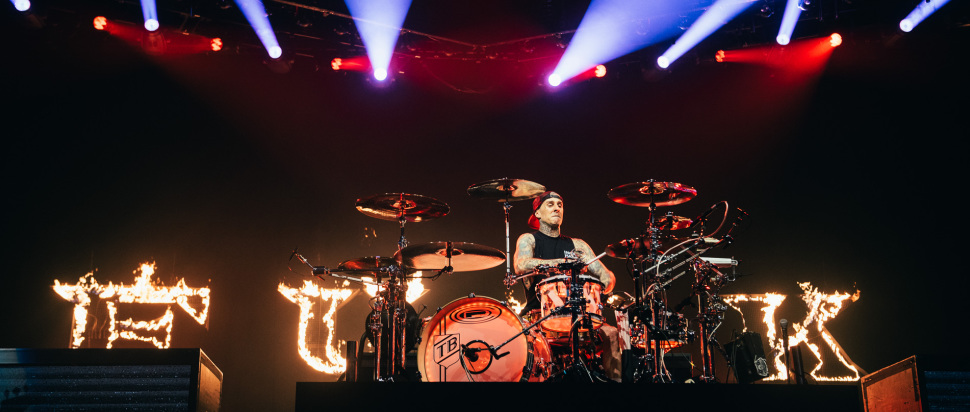 Blink 182 live at SSE Hydro, Glasgow