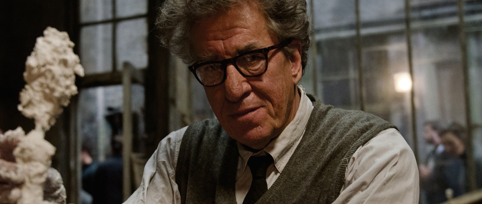 Geoffrey Rush as Alberto Giacometti in 'Final Portrait'
