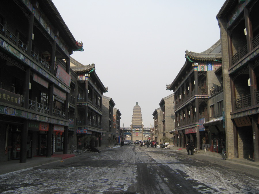 An ancient street in Chaoyang District