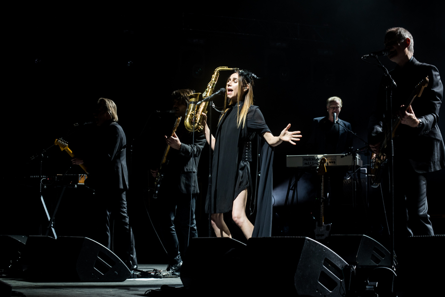 PJ Harvey live at The Edinburgh Playhouse, Edinburgh International Festival