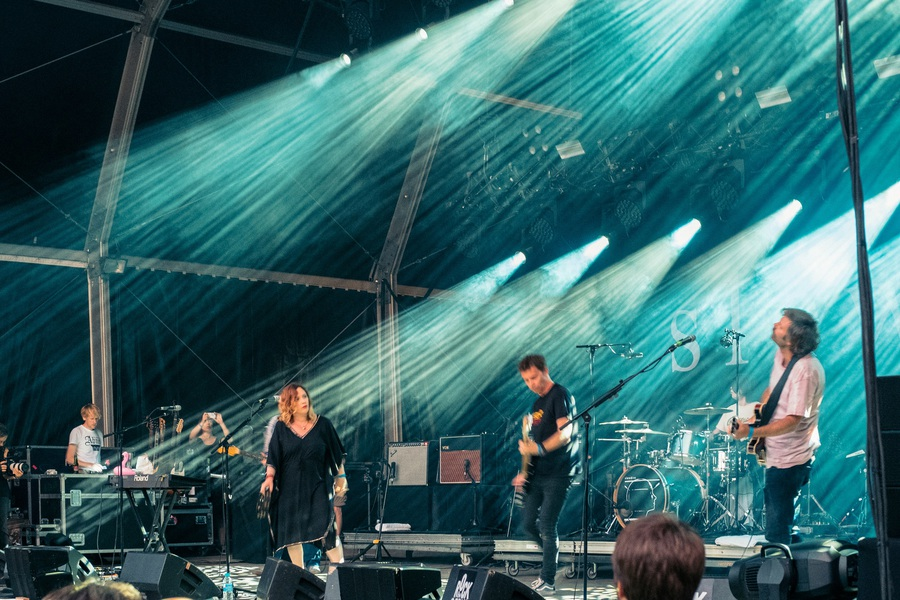 Slowdive at Rock En Seine 2017