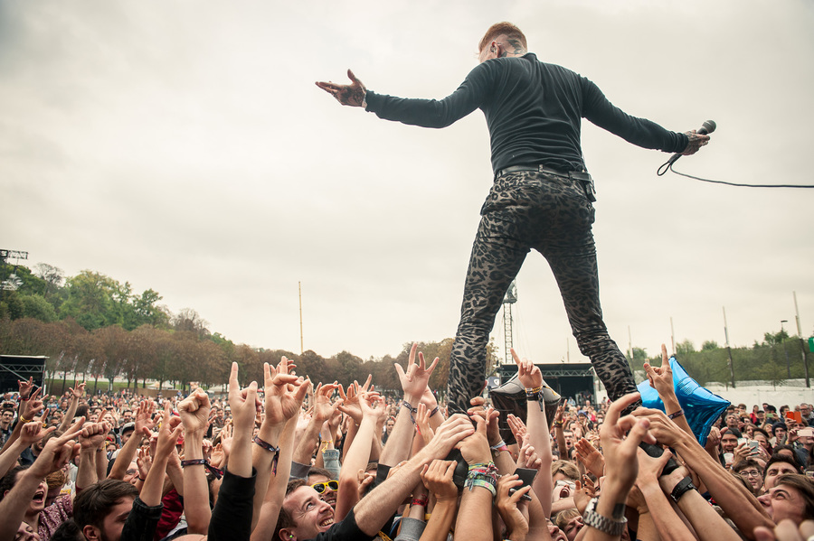 Frank Carter and The Rattlesnakes at Rock En Seine 2017