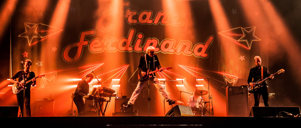 Franz Ferdinand at Rock En Seine 2017