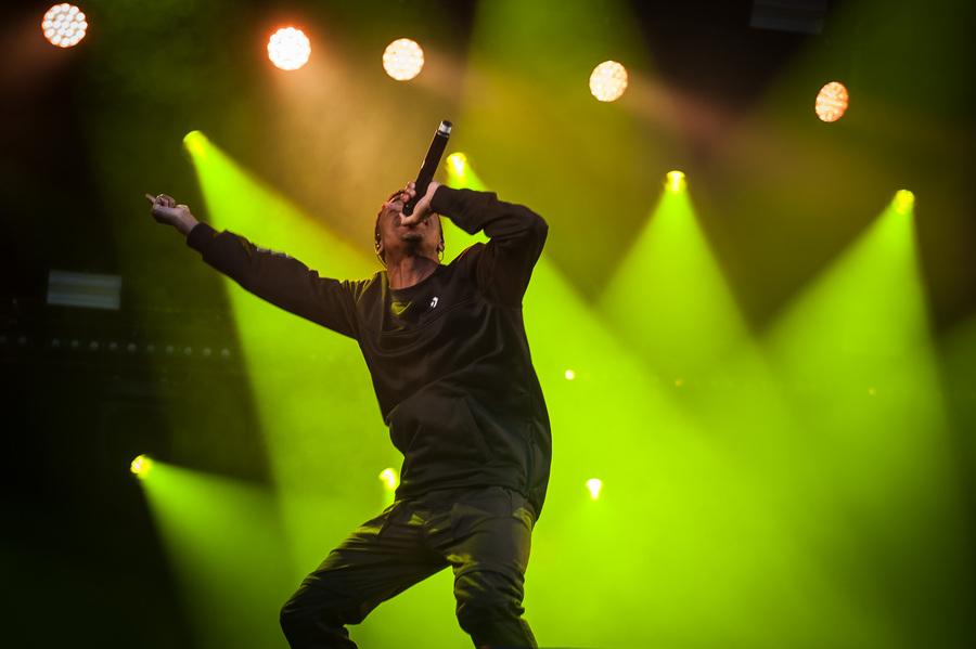 Vince Staples at Rock En Seine 2017