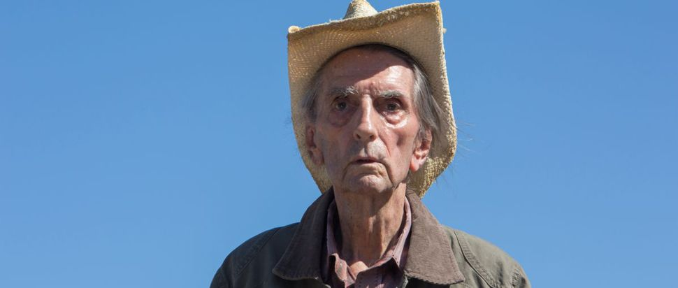 Harry Dean Stanton in his final film, Lucky