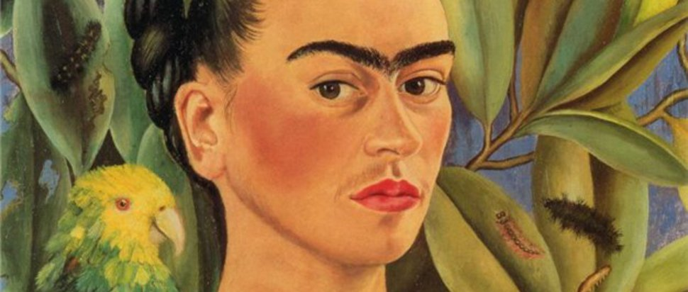 Frida Kahlo - Self Portrait with Bonito (1941)