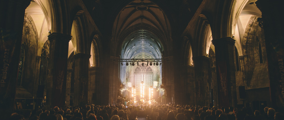 Frightened Rabbit with the RSNO @ Paisley Abbey 2017