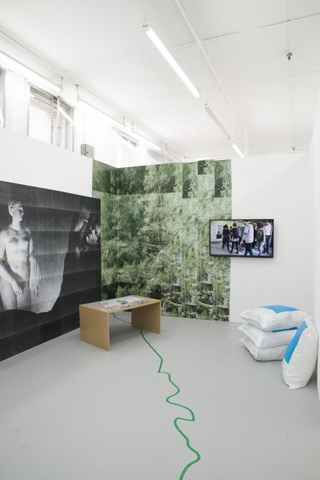 Anna Wachsmuth, Installation view, 2017