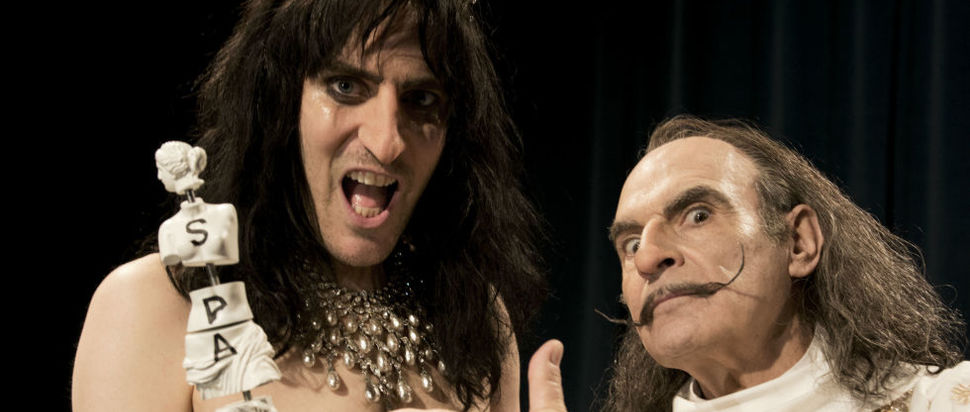 Noel Fielding as Alice Cooper in Urban Myths