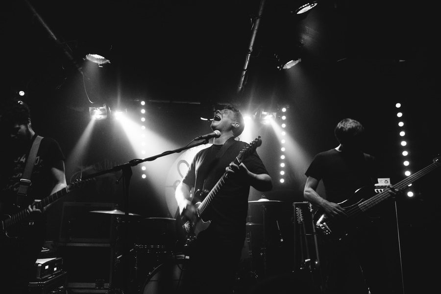 We Were Promised Jetpacks live at Sneaky Pete's, Edinburgh