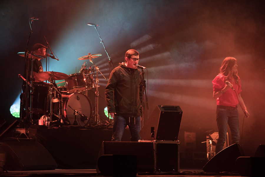 Paul Heaton and Jacqui Abbott live at The SEC Armadillo, Glasgow