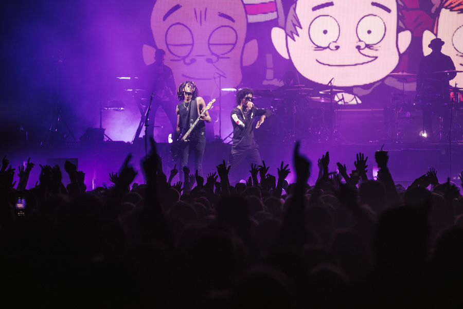 Gorillaz live at The SSE Hydro, Glasgow