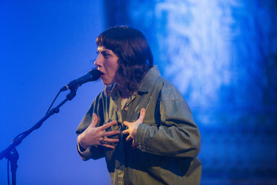 Aldous Harding live at Le Guess Who?, Utrecht, 2017
