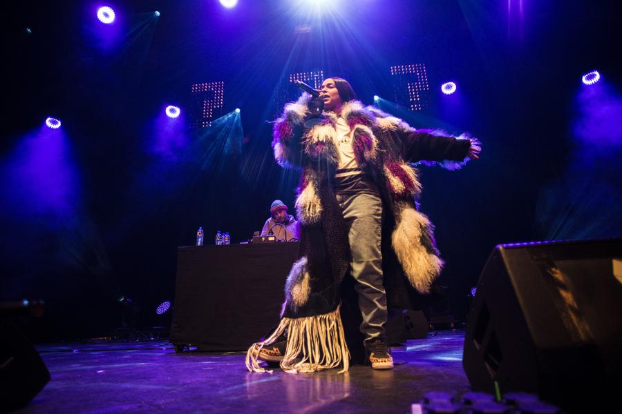Princess Nokia live at Le Guess Who?, Utrecht, 2017