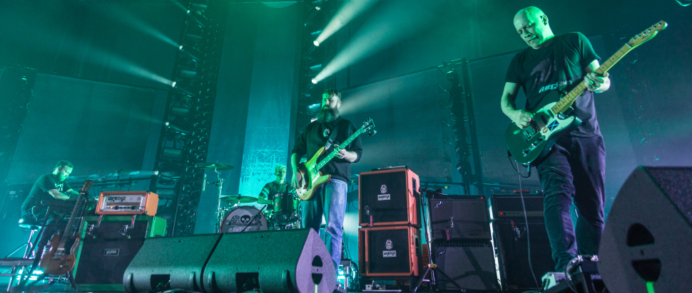 Mogwai live at The SSE Hydro, Glasgow