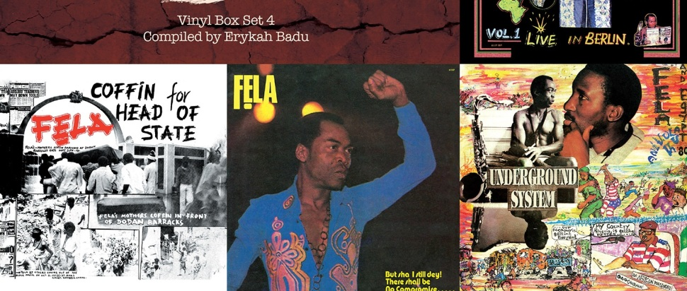 Fela Kuti - Box Set #4 (Curated by Erykah Badu) review: The