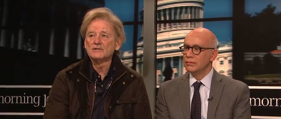 Bill Murray as Steve Bannon on SNL