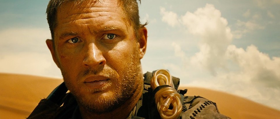 Tom Hardy in Mad Max Fury Road 2