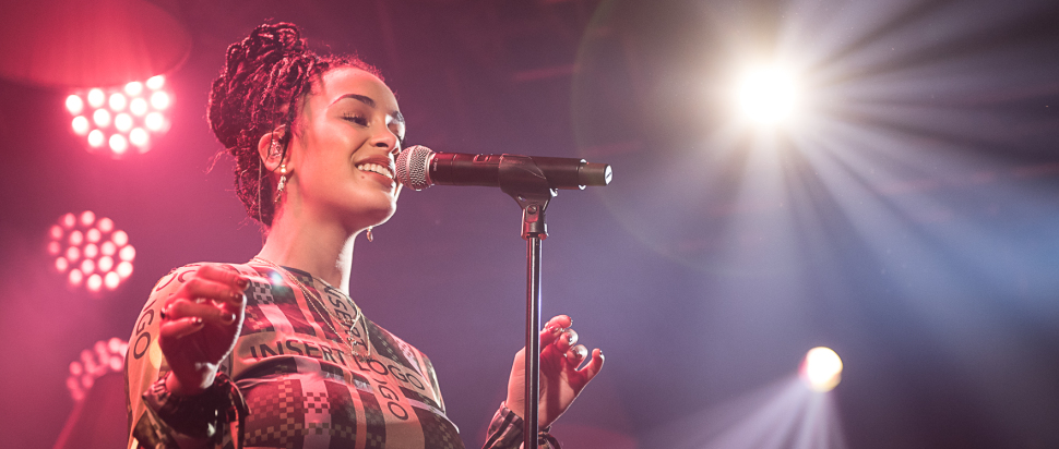 Jorja Smith live at The Liquid Room, Edinburgh