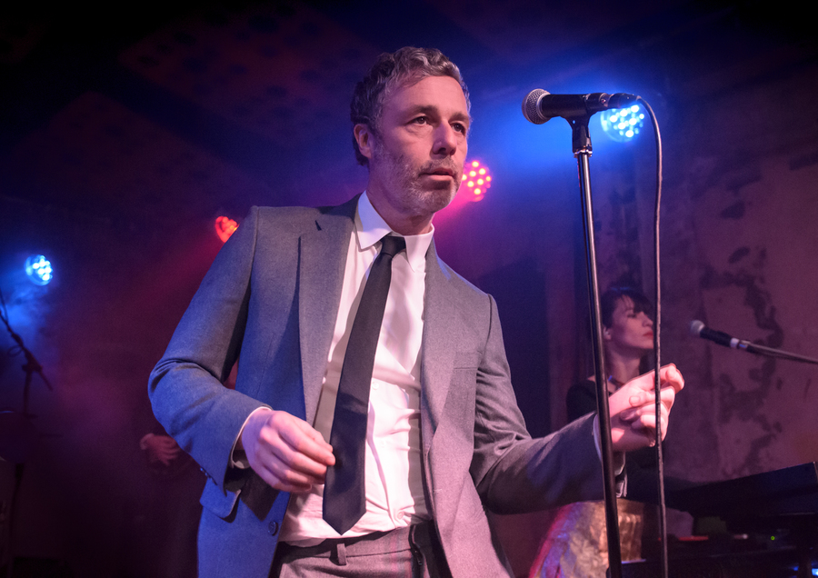 Baxter Dury live at Stereo, Glasgow