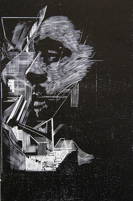 #24 (Woodcut Print)