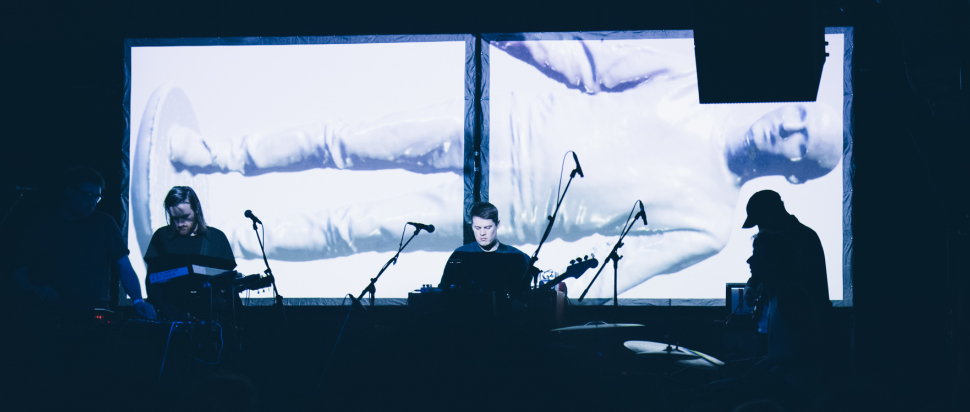 Hookworms live at The Art School, Glasgow