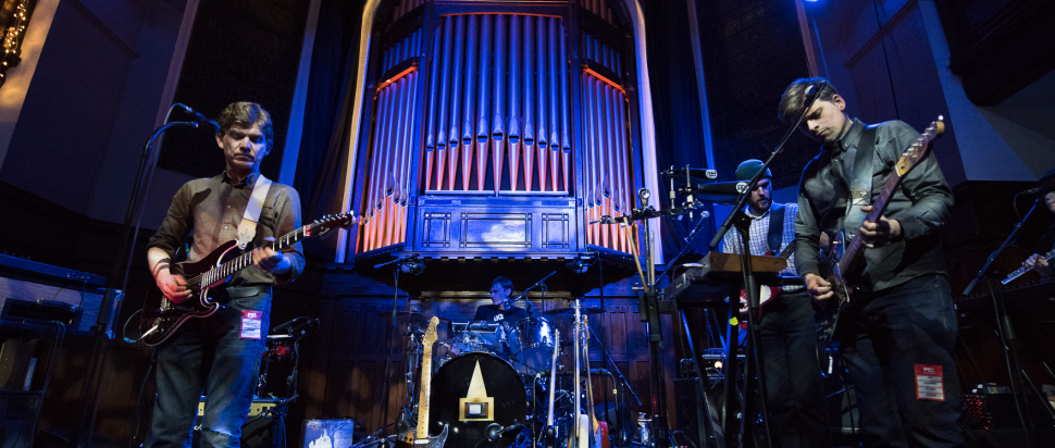 Field Music live at St Lukes, Glasgow