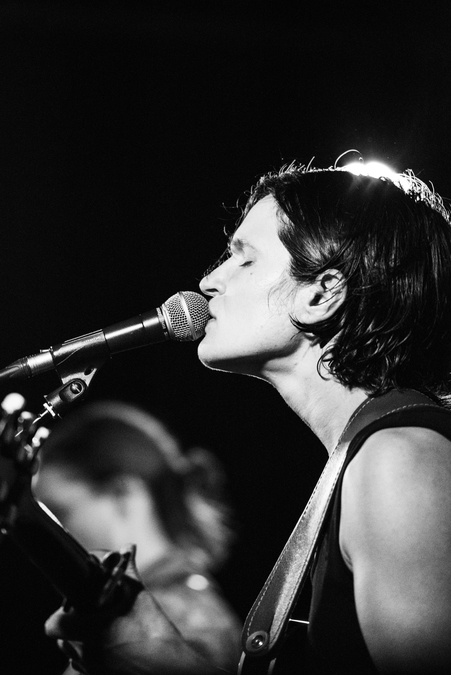 Big Thief live at La Belle Angele, Edinburgh