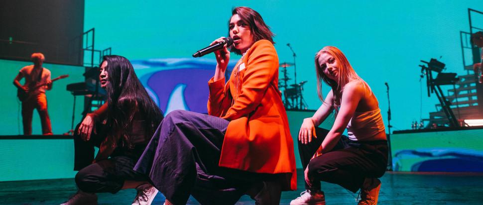 Dua Lipa live at The Manchester Apollo