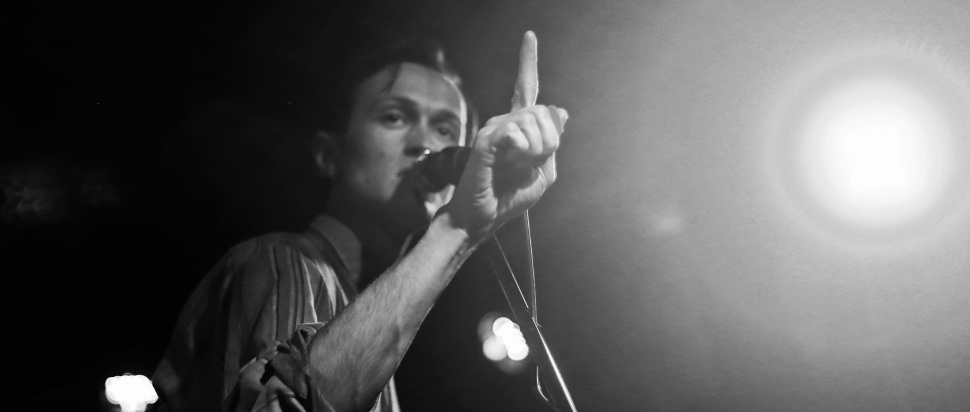 Ought live at Stereo, Glasgow