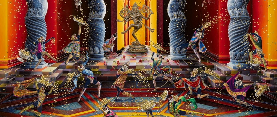 Raqib Shaw, The Purification of the Temple
