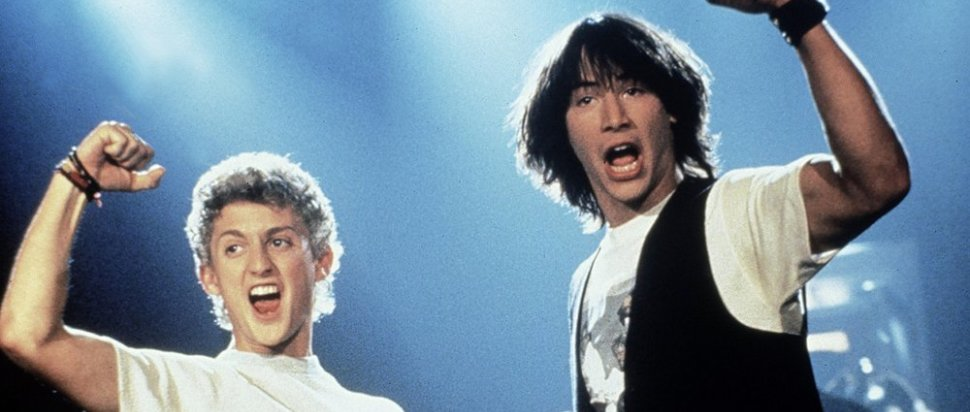 Alex Winter and Keanu Reeves as Bill & Ted